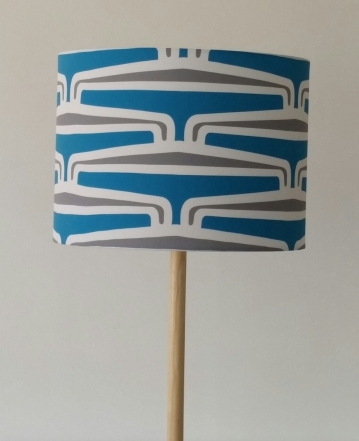 MAD PUHORO Kikorangi Drum Lampshade