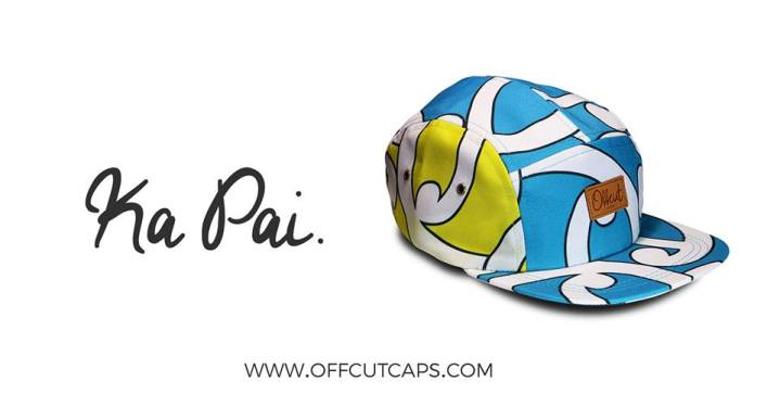 Off Cut Caps - MAD Whanau fabric