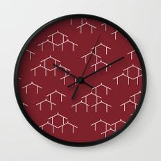 MAD WHARE IWI R-Whero Wall Clock