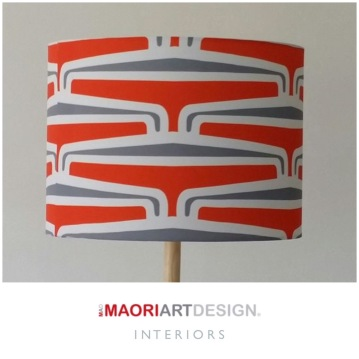 M A D Interiors - Drum Lampshade - Puhoro Collection