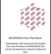 MAURIORA Clear-Red Maori