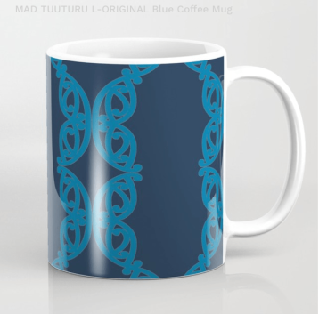 MAD TUUTURU L-Orig Blue Coffee Mug