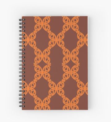 MAD TUUTURU L-Orig Orange Spiral Notebook