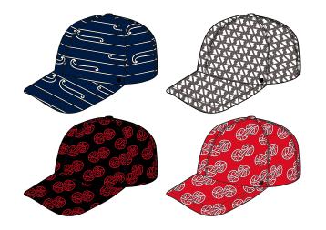 MAD + HH Collab - Aotearoa Collection 2018 - Baseball Hats