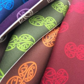 MAD Mauriora Design - Initial Design Colourways with Inka Design