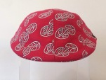 Aotearoa Collection - Mauriora Duckbill Hat - Red/White