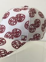 Aotearoa Collection - Mauriora Baseball Cap - White/Red