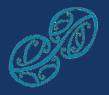 MAD Mauriora Fabric Print - Blue